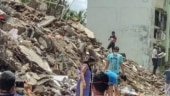 2 killed after Coimbatore building collapses due to heavy rain, 5 rescued