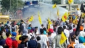 Farm bills: Haryana Police uses water cannon to disperse protesters marching to Delhi