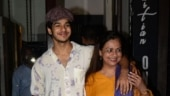 Ishaan Khatter cried like a baby after watching mom Neelima Azeem in Dolly Kitty Aur Woh Chamakte Sitare