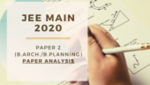 JEE Main 2020 Paper-2 analysis by expert: B Arch- B Planning paper easier than January session
