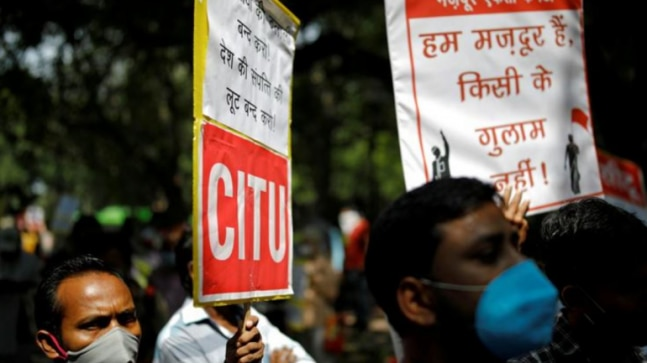 Businesses cheer, unions fear contentious Indian labour reforms  - India Today RSS Feed  IMAGES, GIF, ANIMATED GIF, WALLPAPER, STICKER FOR WHATSAPP & FACEBOOK