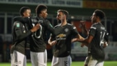 League Cup: Manchester United register 1st win of season, Tottenham Hotspur game called off