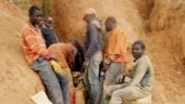 At least 50 killed in collapsed gold mine in east Congo