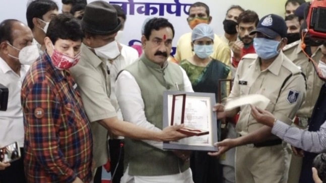I don't wear masks, so what: MP minister Narottam Mishra kicks up storm violating Covid norms, apologises later  - India Today RSS Feed  IMAGES, GIF, ANIMATED GIF, WALLPAPER, STICKER FOR WHATSAPP & FACEBOOK