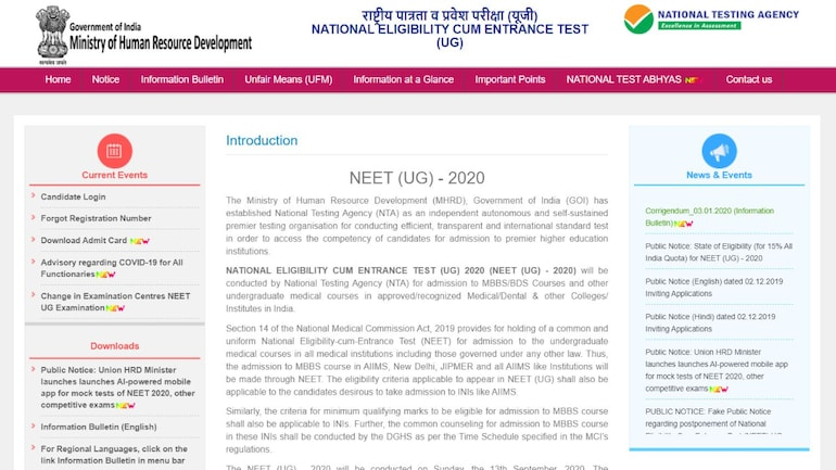 Neet Result 2020 To Be Out Soon What After Neet 2020 Result Education Today News