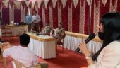 Bengaluru: Gratitude ceremony by police for people who helped labourers during coronavirus pandemic