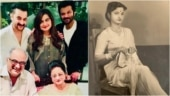 Anil, Sanjay and Boney Kapoor share old photos of mom Nirmal on her birthday: Anchor of our family