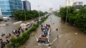 Pakistan under flood water for three months, satellite images show extent of damage