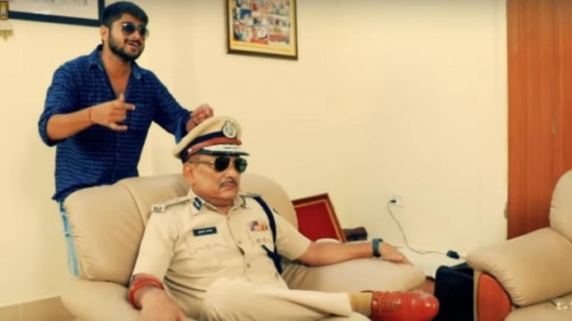Bihar DGP Gupteshwar Pandey in Robin Hood avatar in music video minutes after retirement