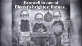Amul pays tribute to Pranab Mukherjee with new doodle: One of Bharat's brightest Ratnas