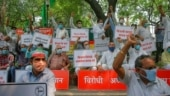 Hyderabad: Farmers protest against 3 agriculture bills tabled in Lok Sabha