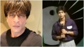 Flashback Friday: TV anchor Shah Rukh Khan introduces Kumar Sanu on stage. Trending video