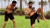 Siddhant Chaturvedi's morning warm-up session in Goa will make you want to exercise