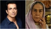 Fan asks Sonu Sood to help Surekha Sikri after she suffers brain stroke. She is doing fine, says actor