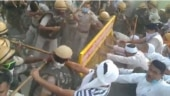 Haryana: One injured as police lathicharge physical training instructors protesting against their dismissal