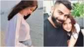 Anushka Sharma shares new baby bump pic. My whole world in one frame, says Virat Kohli