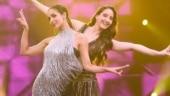 Nora Fatehi in body-hugging dress dances with Malaika Arora. Trending video