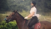 Jacqueline Fernandez goes horse riding: The secret of your future is hidden in your daily routine