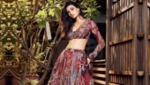 Athiya Shetty wears lehenga choli made of sock waste for LFW 2020. See photos