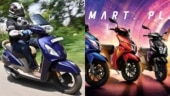 TVS Jupiter, Ntorq 125: Check out updated variant-wise prices, festive season offers