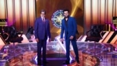 Maniesh Paul meets Big B during KBC shoot, regrets not being able to touch his feet