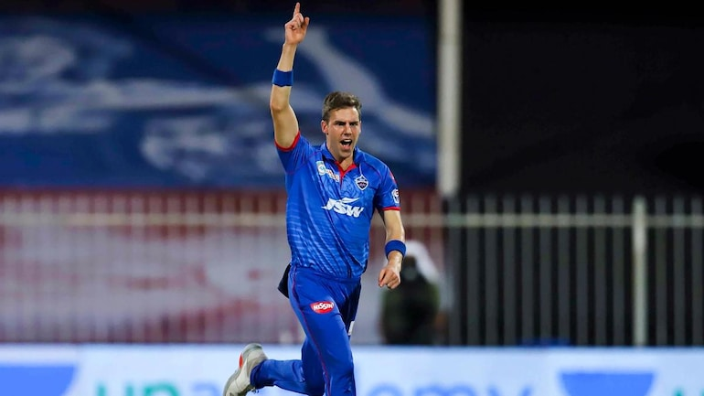 Delhi Capitals bowler Anrich Nortje on Wednesday