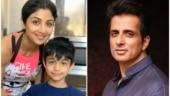 Shilpa Shetty's son's school project is dedicated to Sonu Sood: A true hero
