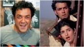 Bobby Deol completes 25 years in Bollywood with Barsaat. Twinkle Khanna is teary-eyed