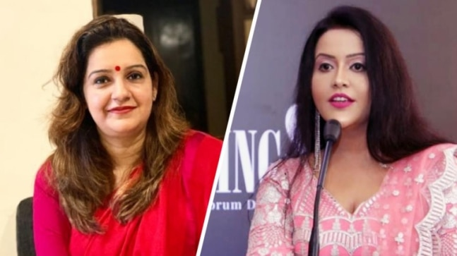 Twitter war between Priyanka Chaturvedi, Amruta Fadnavis after Mumbai Police accounts shifted from Axis Bank  - India Today RSS Feed  IMAGES, GIF, ANIMATED GIF, WALLPAPER, STICKER FOR WHATSAPP & FACEBOOK