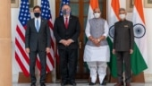 Defence Minister Rajnath Singh raises Chinese aggression at India-US 2+2 dialogue