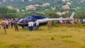 Narrow escape for jeweller family as chopper makes emergency landing enroute Tirupati