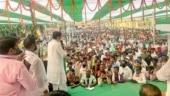 Unmasking poll rallies: '6 feet ki doori' norm goes for a toss as Bihar netas hit the streets