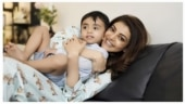Kajal Aggarwal shares adorable birthday wish for nephew Ishaan. See post