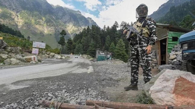 Chinese army soldier captured in Ladakh