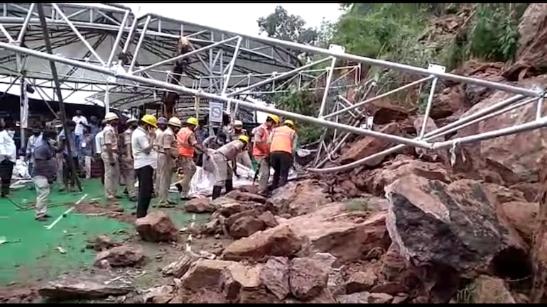 Rescue operations underway at Kanaka Durga temple in Andhra Pradesh's Vijayawada