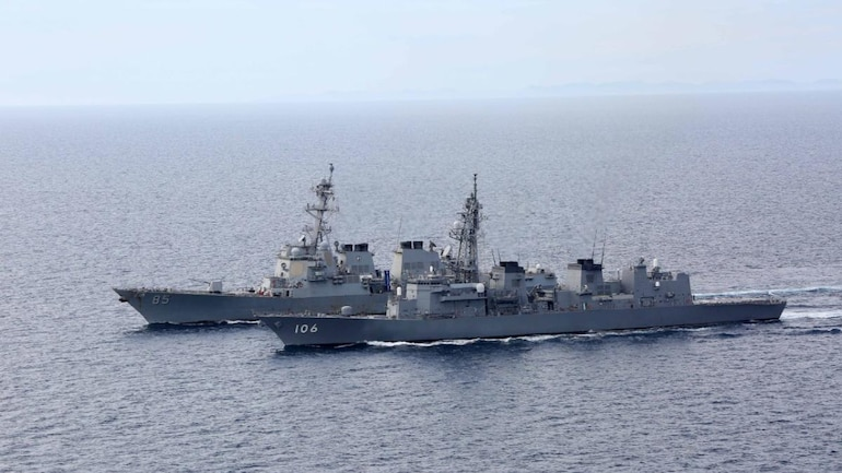 Malabar 2020 to be held in two phases as 'non-contact, at sea only' joint  naval exercise - India News