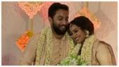Malayalam actress Mrudula Murali ties the knot with longtime boyfriend Nitin Vijay. See pics