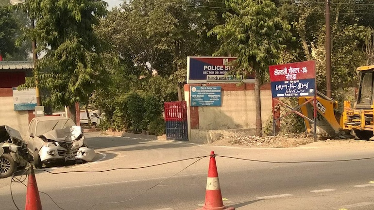 [REPRESENTATIVE IMAGE] File photo of Noida Sector 39 police station