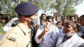 Ink thrown at AAP's Sanjay Singh after he met Hathras victim's kin; man detained: Watch