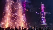 Burning of Ravana effigies, crackers worsens Delhi's air quality further
