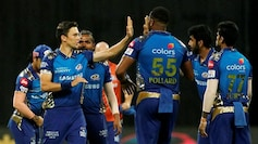 Defending Champions Mumbai Indians sail into IPL 2020 playoffs. (Courtesy by BCCI)