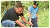 Prakash Raj accepts Tanikella Bharani's Green India Challenge, nominates Suriya, Trisha and Mohanlal