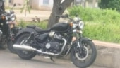 New Royal Enfield Cruiser spotted testing. Is it the KX650?