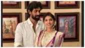 Rana Daggubati and Miheeka Bajaj celebrate first Dussehra after wedding. In pics