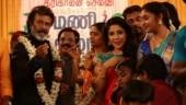 Sakshi Agarwal who played Rajinikanth's daughter-in-law in Kaala shares photos with him