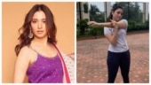 Tamannaah back to working out post Covid-19. Time to take baby steps
