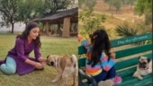 Soha Ali Khan and daughter Inaaya have themselves a dog day afternoon