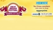 Amazon Great Indian Festival 2020 Sale: Great offers on smartphones, TV and electronics