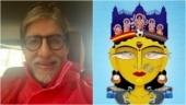 Amitabh Bachchan shares painting of Maa Durga featuring elements of Kolkata. Viral post