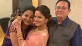 Ankita Lokhande's father back home from hospital, actress thanks fans for their prayers